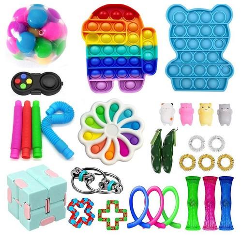 31 Piece Fidget Sensory Toy Set