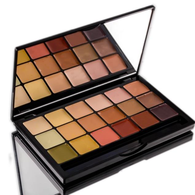 Graftobian HD Creme 18 Color Super Palette ( Global Corrector)