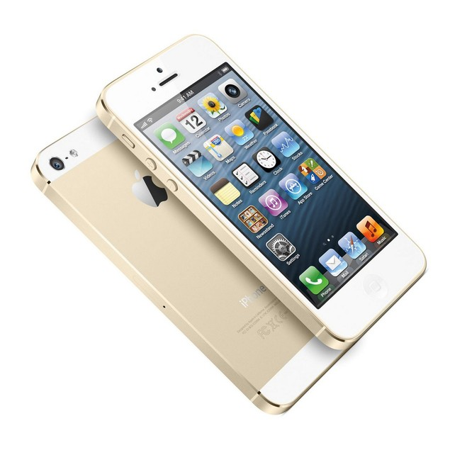 Apple iPhone 5s, AT&T, Gold, 16 GB, 4.0 in Screen