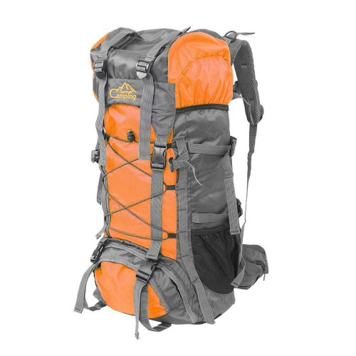 60L Outdoor Hiking Bag Camping Travel Waterproof Mountaineering Pack