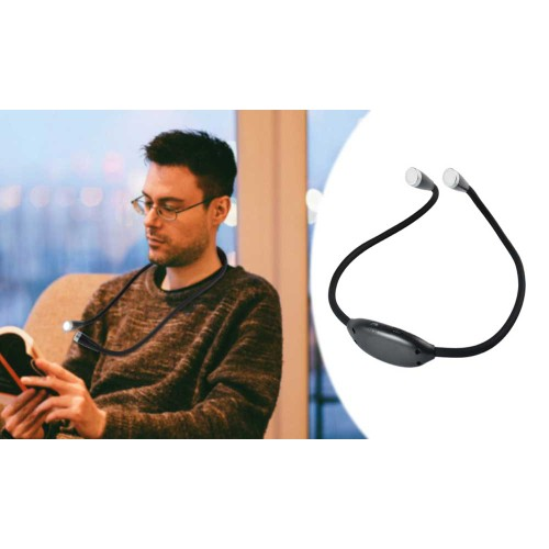 LED Neck Reading Light - Ideal For Reading In Bed At Night On The Train Plane, etc. Without Disturbing Anyone