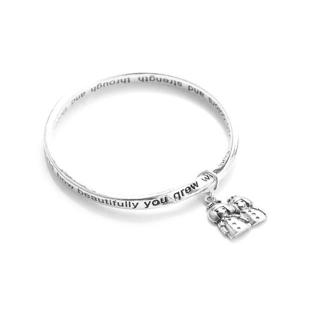 Novadab Sister Poem Bracelet With Sister Charms Love Bracelet