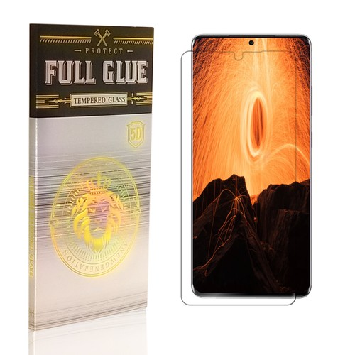 Curved Edge Tempered Glass Screen Protector for Samsung- S10 and S20 Styles