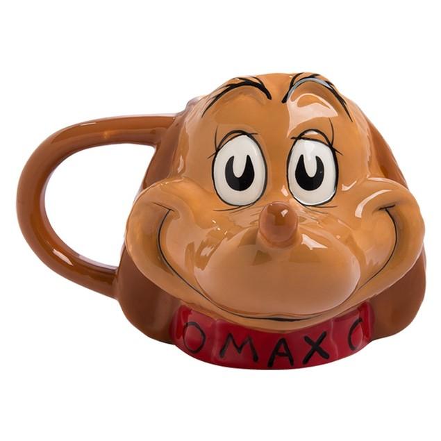 Dr. Seuss The Grinch Max Sculpted Ceramic Mug
