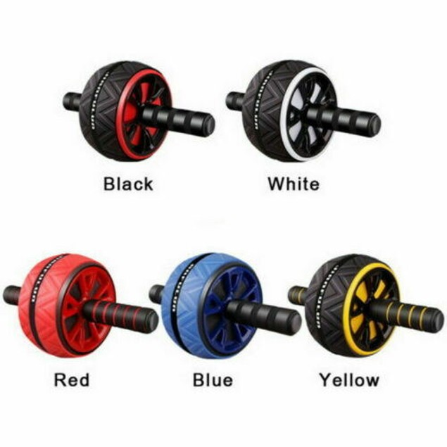 Ab Wheel Exercise Gym Roller Abdominal Muscle Fitness