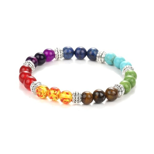 Novadab Magical Oplascent Beaded Rainbow Bracelet