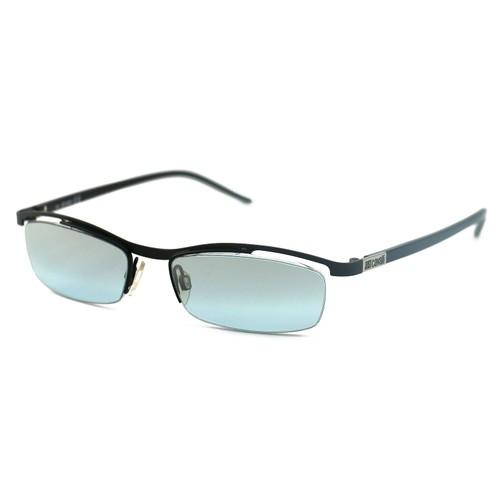 Just Cavalli Men's Sunglasses JC055 0BR Black 52 17 135 Semi-Rimless Oval