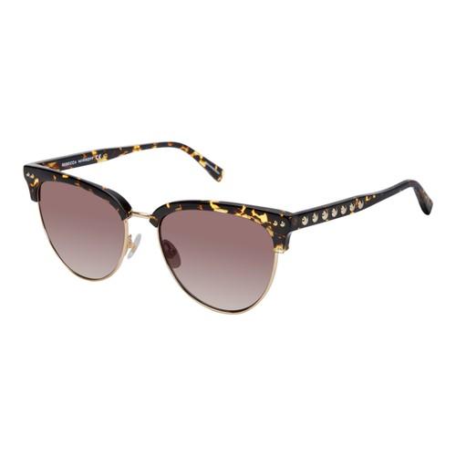 Rebecca Minkoff Women Sunglasses RMTILDEN1S 02IK Havana/Gold Browline Gradient
