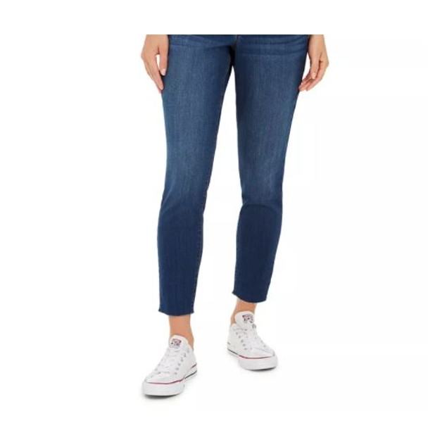 Style & Co Women's Skinny Curvy Jeans Blue Size 2