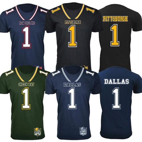 Men's Football Team Jersey T-Shirts