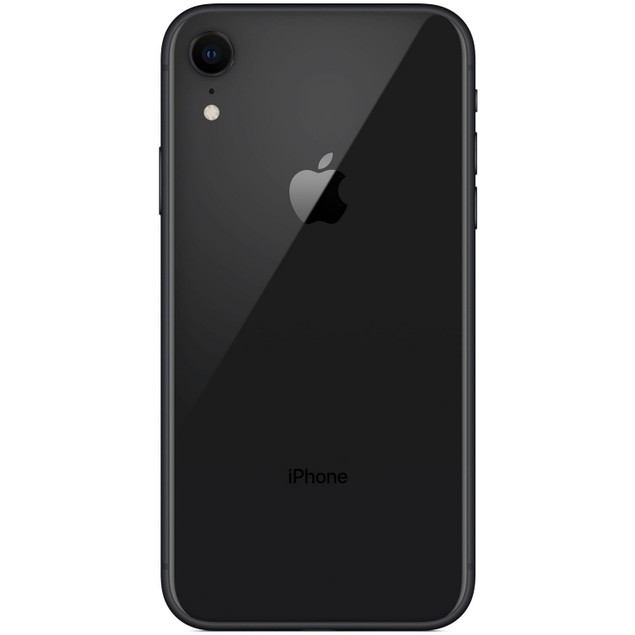 Apple iPhone XR, AT&T, Black, 64 GB, 6.1 in Screen