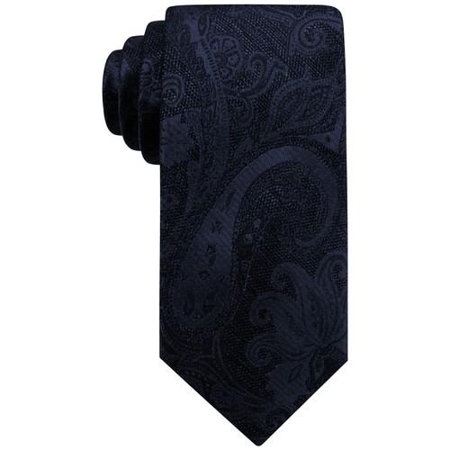Ryan Seacrest Men's Aberdeen Paisley Tie Navy One Size