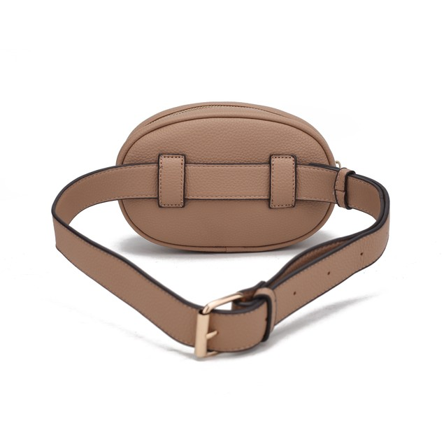 MKF Collection Fatima Quilted Chevron Womens Belt Bag by Mia K.