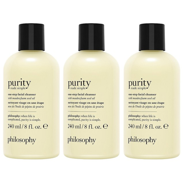 PhilosophyPurity One Step Facial Cleanser, 8 oz (Pack of 3)