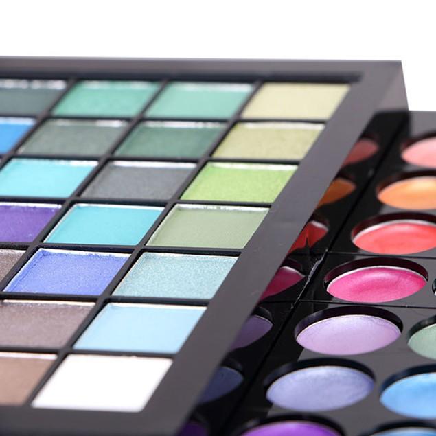177 Colors Eye Shadow Lip Gloss Blush Combination Makeup Palette Luxury Trim Makeup Set