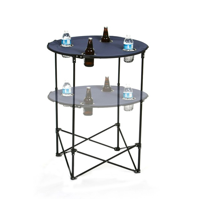 Picnic Plus  Scrimmage Tailgate Table Navy