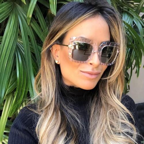 Trendy Sunglasses With Diamond Facet