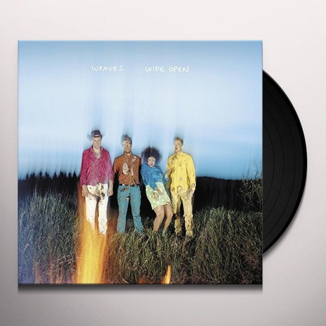 Weaves – Wide Open Limited Edition White Vinyl