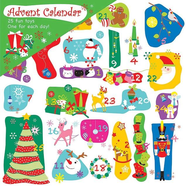 Toy Advent Calendar, Advent Calendars by Calendar Ink