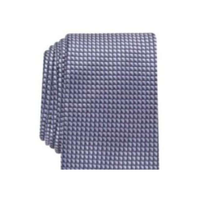 Alfani Men's Slim Neat Tie Gray Size Regular