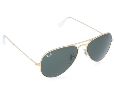 Ray-Ban Aviator Classic Gold Sunglasses - RB3025-W3234-55 Was: $153 Now: $79.99.