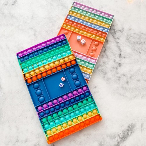 Large Push POP Game & Dice Board