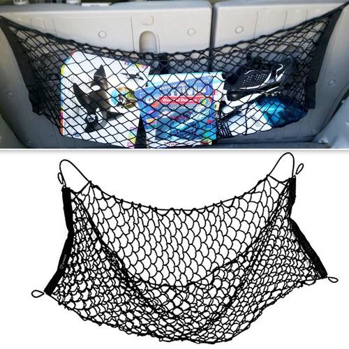 Zone Tech New Mesh Vehicle Car Organizer Sturdy Black Trunk Cargo Net