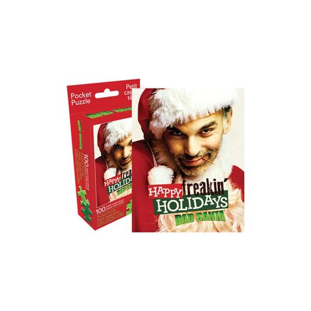 Bad Santa 100 Piece Pocket Puzzle