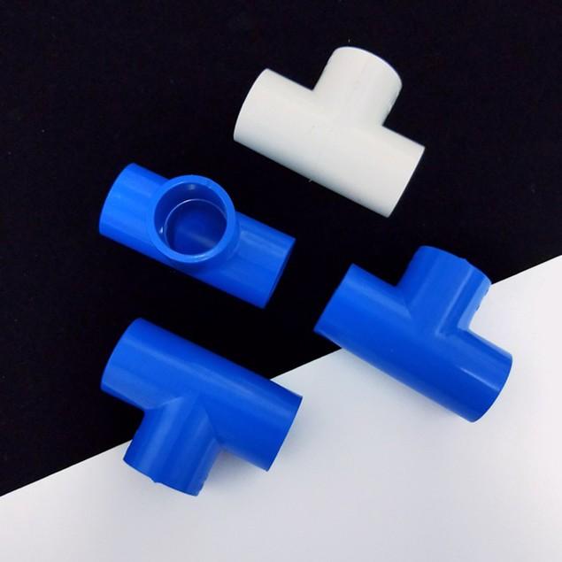 Tee Pipe Connectors Yard Garden PVC Thicken Water Hose Tube Adaptor