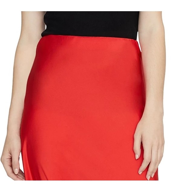 Sanctuary Women's Everyday Midi Skirt Bright Red Size X-Large