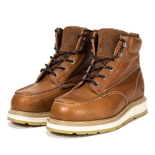 ROCKROOSTER Men's Work Boots Composite Toe Goodyear Welt Puncture Resistant