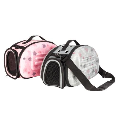 Portable Breathable Pet Handbag Carrier Travel Carry Bag For Cat Dog - 2 Colors