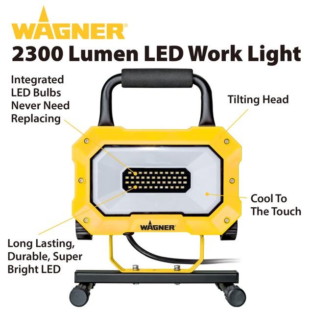 Wagner 2300 Lumen LED Portable Worklight