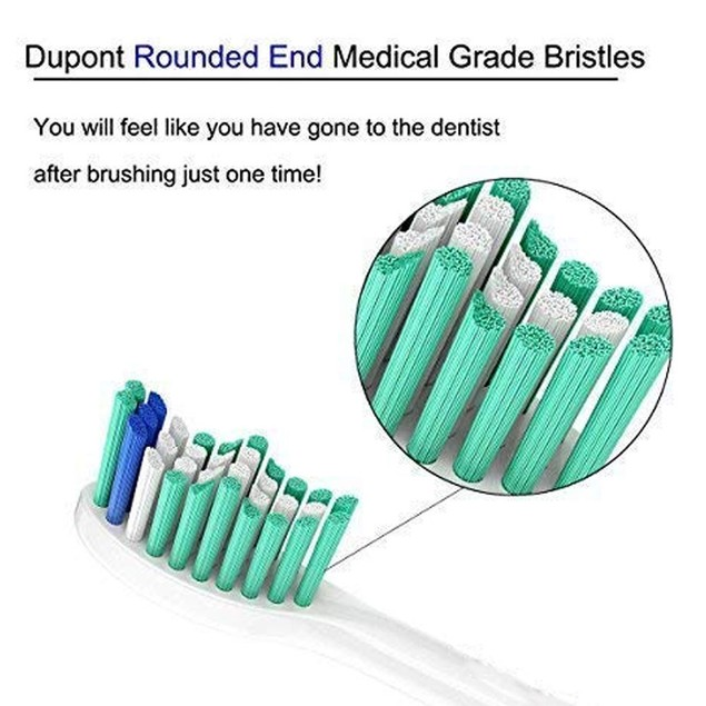 12 Packs Replacement Toothbrush brush Heads Fit For Philips Sonicare E series