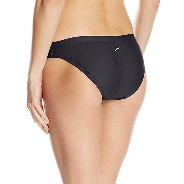 Speedo Women's Powerflex Eco Solid Swimsuit Bottom Sz:XS