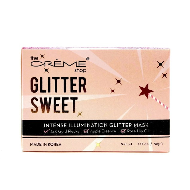 The Creme Shop Glitter Sweet, Intense Illumination Skin Facial Mask, 3.17