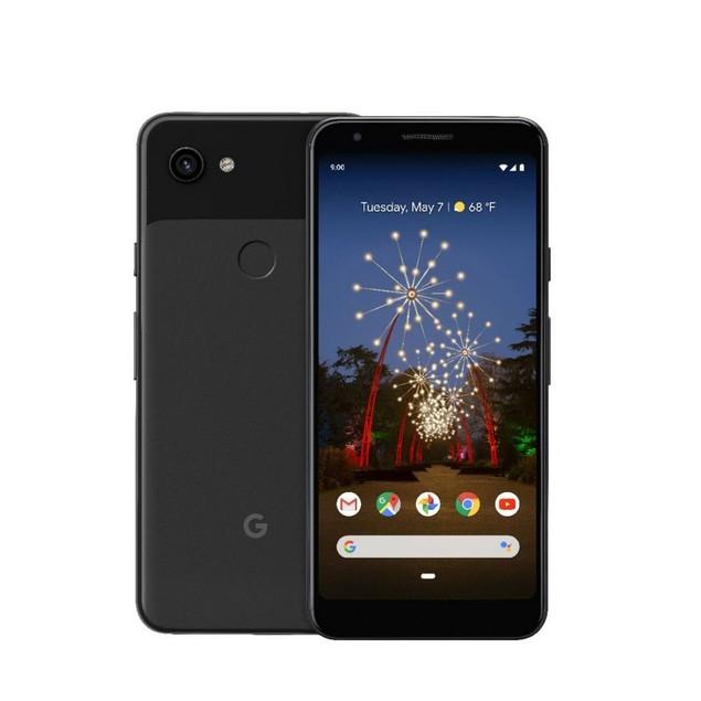Google Pixel 3a, Unlocked, Grade B-, Black, 64 GB, 5.6 in Screen