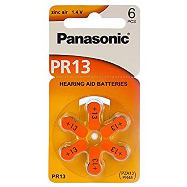 Panasonic Size 13 Zinc Air Hearing Aid Batteries (60 pack)