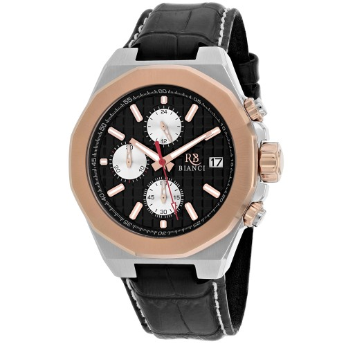 Roberto Bianci Men's Fratelli Black Dial Watch - RB0134