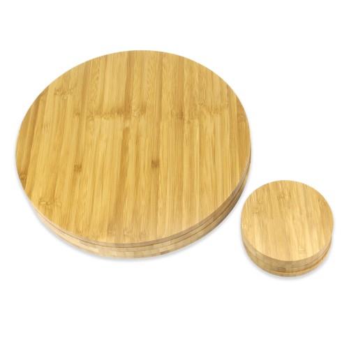 Bamboo Circle Placemats and Coasters | MandW