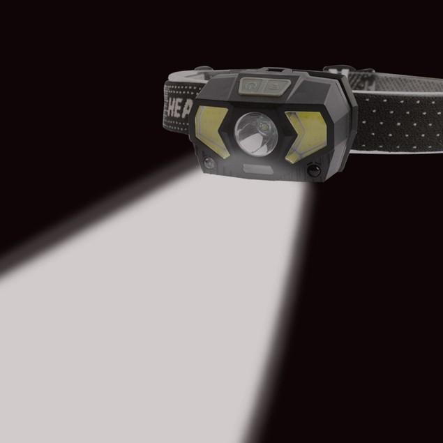 7 Modes COB LED Headlamp - 1000 Lumens