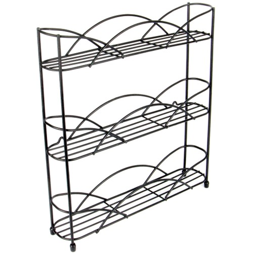 3 Tier Herb and Spice Rack | MandW Black
