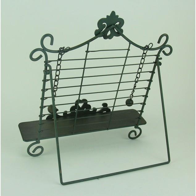Rustic Metal Fleur De Lis Cookbook Holder Easel Cookbook Stands