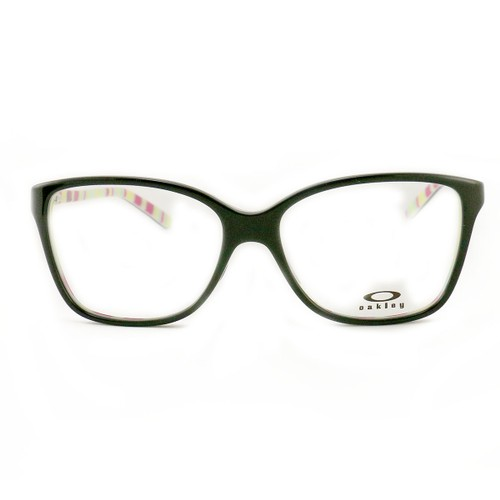 Oakley Finesse Polished Black Purple Eyeglasses OX1126 03 Demo Lens 54 15 136
