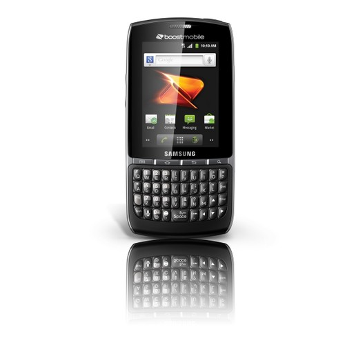 """Samsung Replenish 2.8"""" Android Smartphone for Boost Mobile (Black)"""