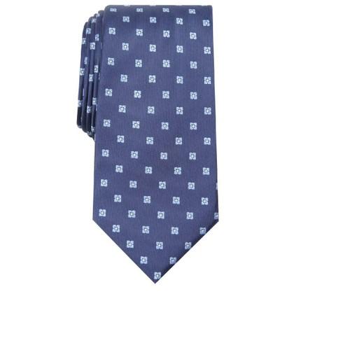 Club Room Men's Classic Neat Tie Green Size Regular