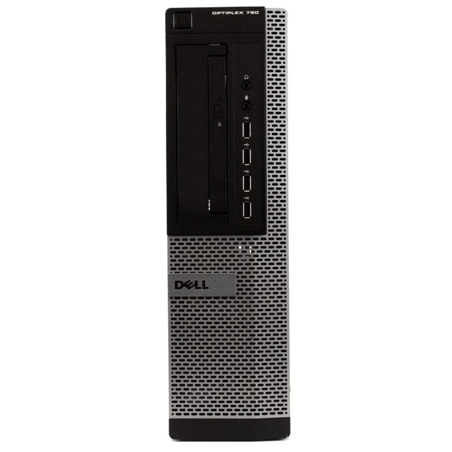 "Dell 790 Desktop Intel i5 16GB 250GB HDD Windows 10 Home 22"" Monitor"
