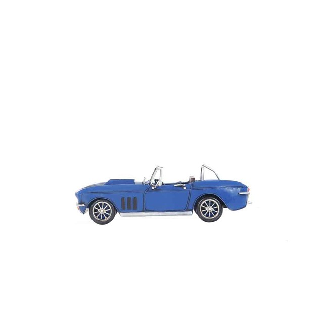 Old Modern Handicrafts Tabletop Decorative Blue Chevrolet Corvette