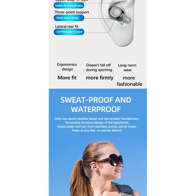 Takakura Touch Binaural Bluetooth Headphone Plug