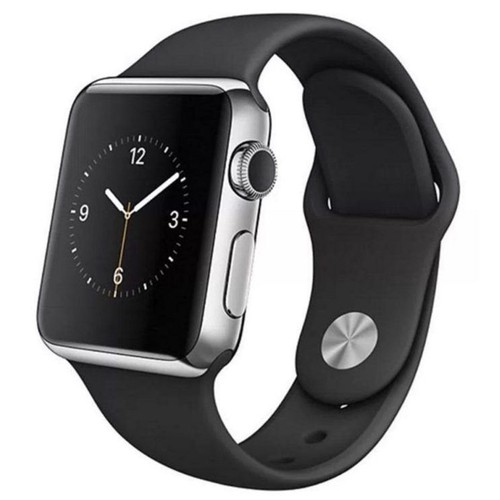 Apple Watch Series 2 38mm Stainless Steel Case with Black Sport Band - Grade B